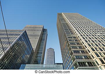 Skyscraper in London (Canary Wharf area)