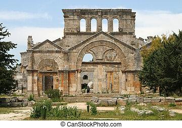 Saint Simeon Stylites - The Church of Saint Simeon Stylites...