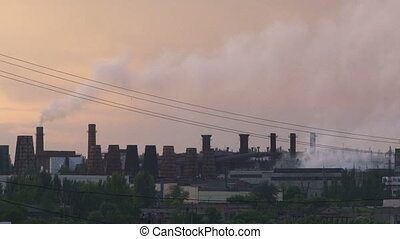 Polluting factories - A large number of polluting factories
