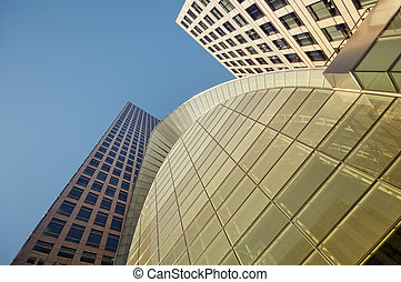 Office Building in Canary Wharf, London