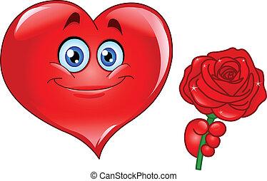 Coração,  rosÈ