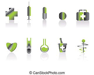 Medical and healt care Icons