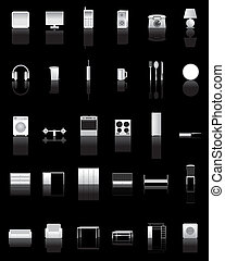 different kind of Home icons