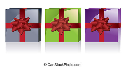 different kinds of gift boxes