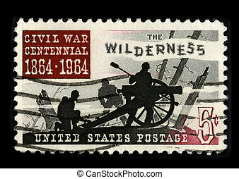 Postage stamp - USA - CIRCA 1964: A stamp printed in USA...