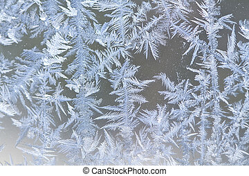 Winter Ice Crystals - Assortment of ice crystals formulated...
