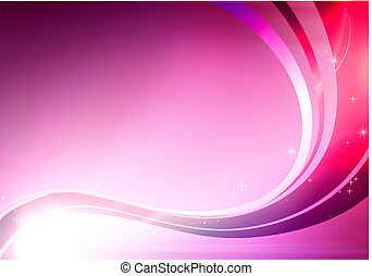 abstract background - Vector illustration of pink abstract...