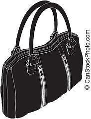 Womans Bag Vector
