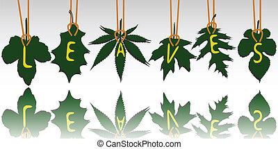 leaves tags