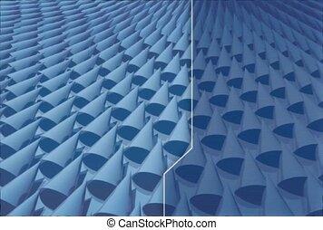 Split Screen Waves
