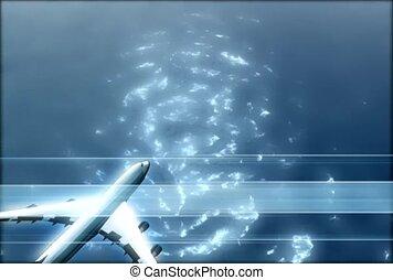 Flight over Water