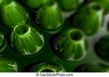 Green Cones in Movement