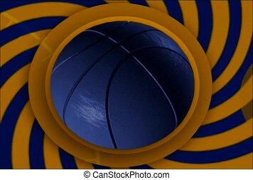 Basketball Kaleidoscope