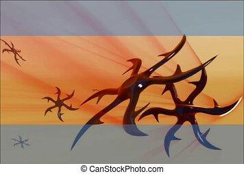 Barbed Pinwheels