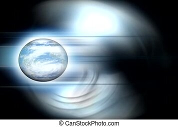 Spinning Earth