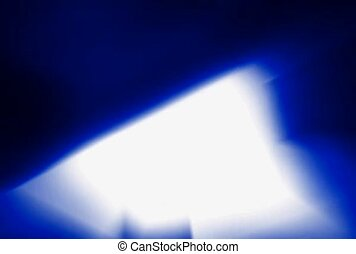 Blue and White Flashes