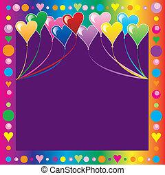 Heart Balloons Icecream