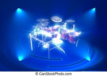 Complex Percussion Set