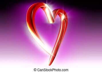 Red Shining Heart