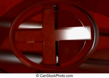 A Cross in a Circle