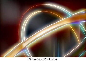 Multicolor Link Circles