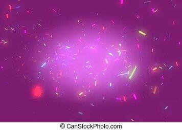 Bright Color Confetti