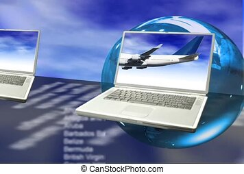 Airplanes and Laptops