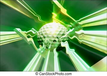 Energitic Golf Ball