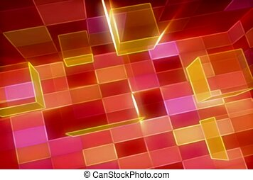 Cubes In A Room