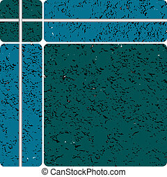 blue stone type ceramic tiles, vector art illustration