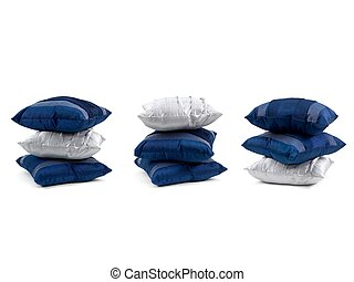 Couch Cushions - Couch cushions isolated against a white...
