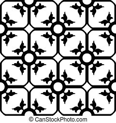 forged iron pattern, abstract seamless texture; vector art...