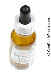 Single Homeopathic Remedy Bottle - A dropper bottle...