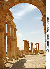 Palmyra Syria - Palmyra was an important city of central...