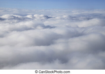 Clouds - Nice abstract photo of a overcast sky seen from...