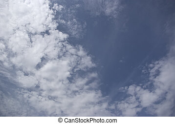 Tranquil skies and clouds