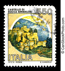 Postage stamp - ITALIA - CIRCA 1980: A stamp printed in...