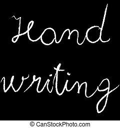 hand writing, abstract art illustration