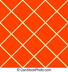 orange seamless ceramic tiles