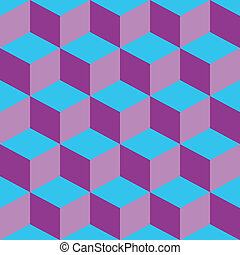 psychedelic pattern mixed purple and blue, vector art...