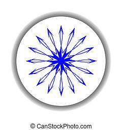 snow flake medallion 4