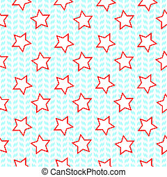 stars seamless pattern, abstract texture; vector art...