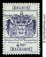 Postage stamp - BELGIUM - CIRCA 1977: A stamp printed in...