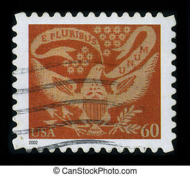 Postage stamp - USA-CIRCA 2002: A stamp dedicated to the E...