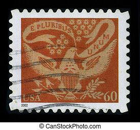 Postage stamp. - USA-CIRCA 2002: A stamp dedicated to the E...