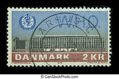 Postage stamp - DANMARK - CIRCA 1972: A stamp dedicated to...
