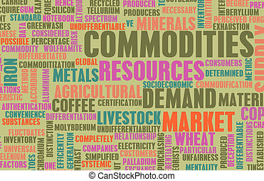 Commodities Trading on a Global Scale as Concept