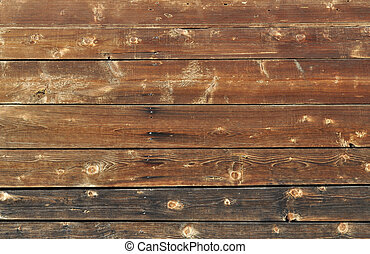 Brown wooden boards background