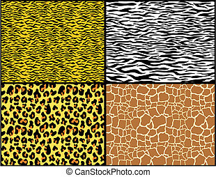 animalprint - animal print patterns in vector format very...
