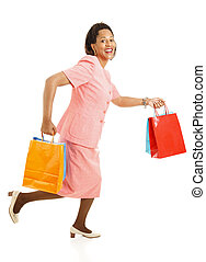 Shopping - Running for Sales